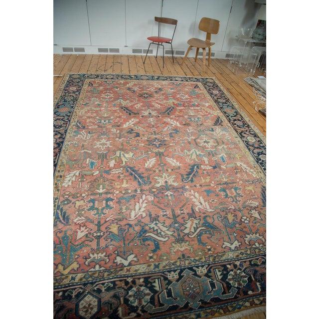 "Vintage Heriz Carpet - 8'3"" X 11'3"" - Image 3 of 10"