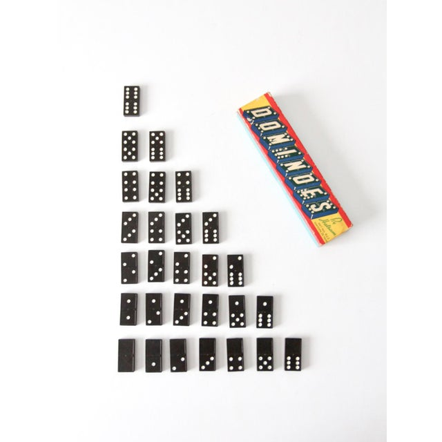 Paper Halsam Dominoes Set Circa 1950s For Sale - Image 7 of 7
