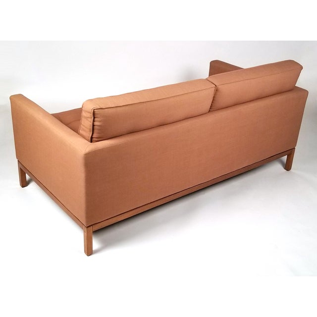 Knoll International Two Seat Sofa Designed by Florence Knoll for Knoll International For Sale - Image 4 of 7