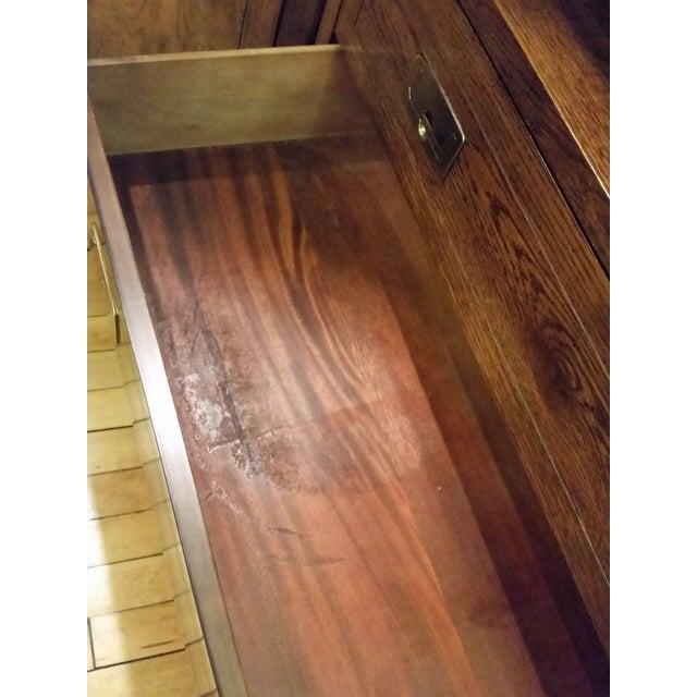 Henredon Scene I Campaign Style Cabinets - Set of 3 - Image 8 of 11