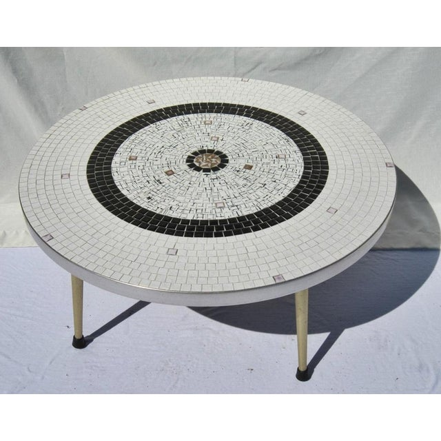 Mid-Century Tile Coffee Table - Image 2 of 6