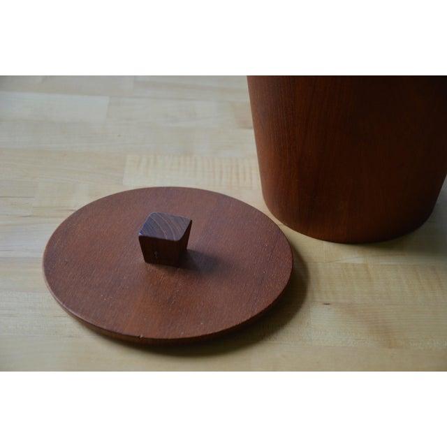 1960s Scandinavian Modern Anri Form Teak Ice Bucket For Sale In Richmond - Image 6 of 9