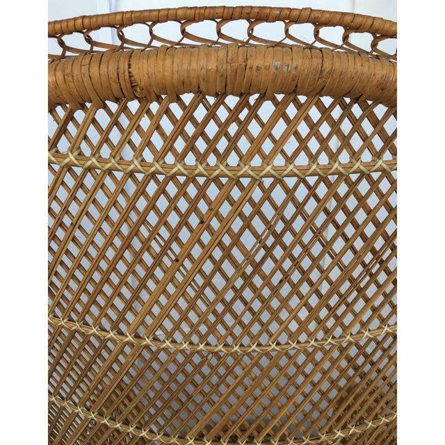 Vintage Rattan Peacock Chair - Image 7 of 8
