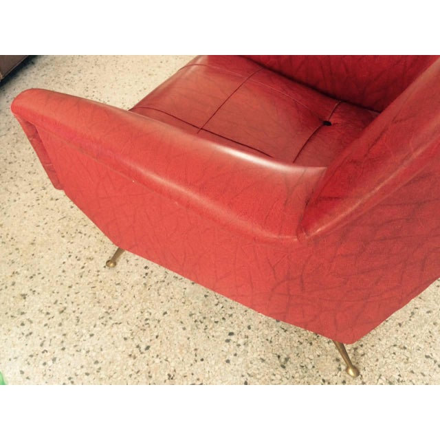 1960s Vintage Italian Gio Ponti Style Chairs - A Pair For Sale In Tampa - Image 6 of 11