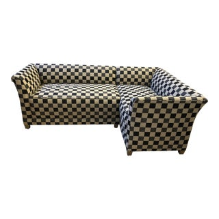 A.Rudin Custom Two-Piece Sectional For Sale