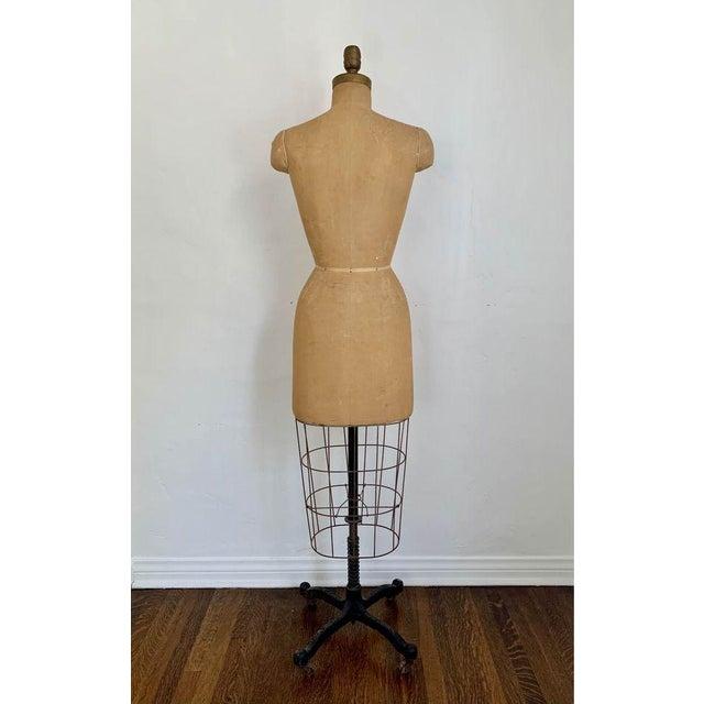 1950s Mannequin Adjustable Dress Form For Sale In Los Angeles - Image 6 of 7