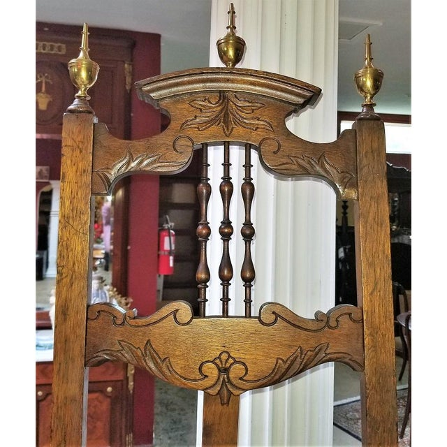 Victorian Eastlake Large and Decorative Easel For Sale - Image 11 of 11