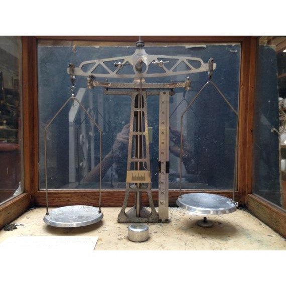 Vintage Chemists Scale - Image 3 of 6
