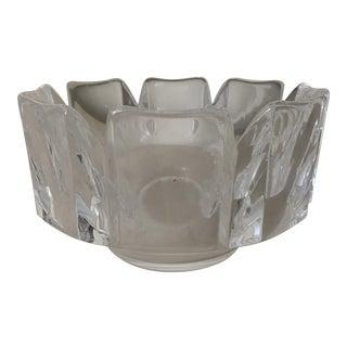 Vintage Orrefors Hand Cut Bowl or Vase For Sale