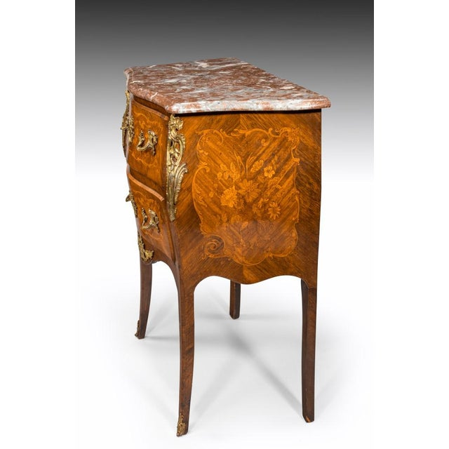 A 19th Century Inlaid Commode, Circa 1850 For Sale In Charleston - Image 6 of 8