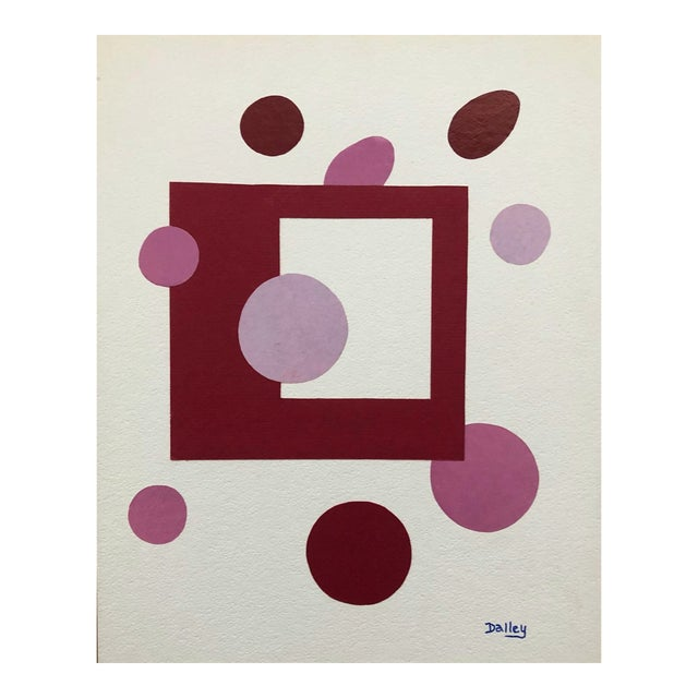 In and Out the Window Modern Collage by Dalley For Sale