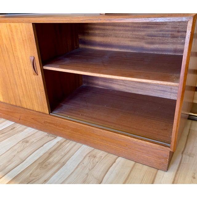 1960s Clausen & Søn Danish Modern Teak Hutch For Sale In Sacramento - Image 6 of 13