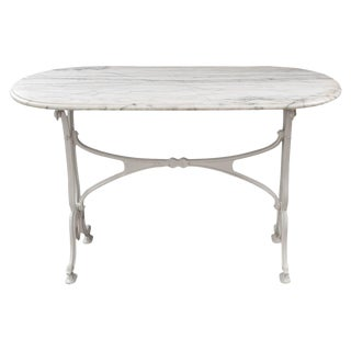 1910's French Bistro Table For Sale