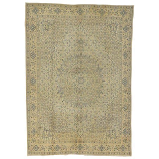 20th Century Persian Khorassan Area Rug - 8′4″ × 11′8″ For Sale