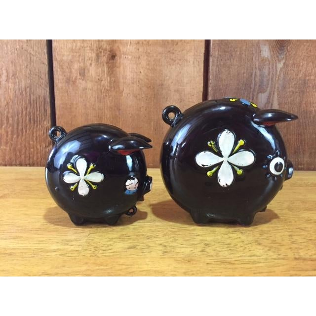 Hand Painted Tilso Piggy Banks - A Pair For Sale - Image 4 of 7
