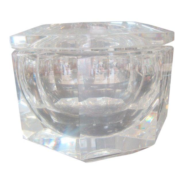 Mid-Century Lucite Ice Bucket - Image 1 of 8