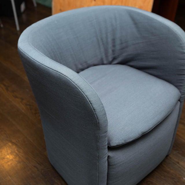 Mid-Century Modern Set of 4 John Saladino for Dunbar Chairs For Sale - Image 3 of 10