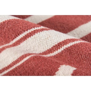"""Erin Gates Thompson Billings Red Hand Woven Wool Area Rug 7'6"""" X 9'6"""" Preview"""