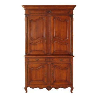 Vintage French Provincial Style Linen Press/Cupboard For Sale