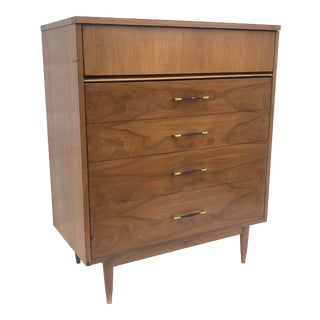 Mid-Century Highboy Dresser For Sale