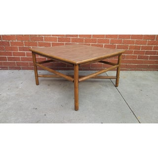 Vintage Ficks Reed Bamboo Coffee Table Preview