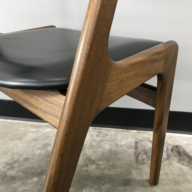 Set of 6 Kai Kristiansen Dining Chairs For Sale - Image 12 of 13