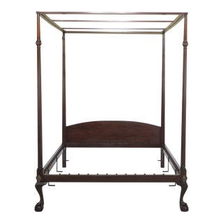 Traditional Kittinger Mahogany Colonial Williamsburg Bedframe For Sale