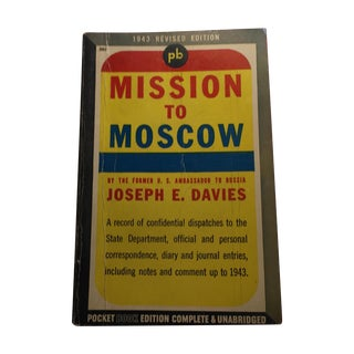 1943 Mission to Moscow by Joseph E. Davies For Sale