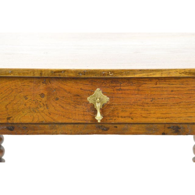 Antique Jacobean Style Tavern Table - Image 5 of 8