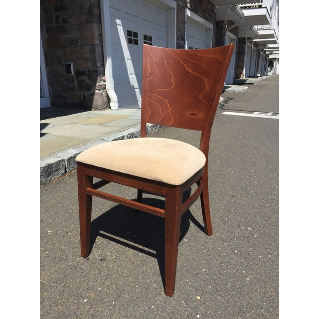 Modern Beech Wood Dining Chair For Sale In New York - Image 6 of 6