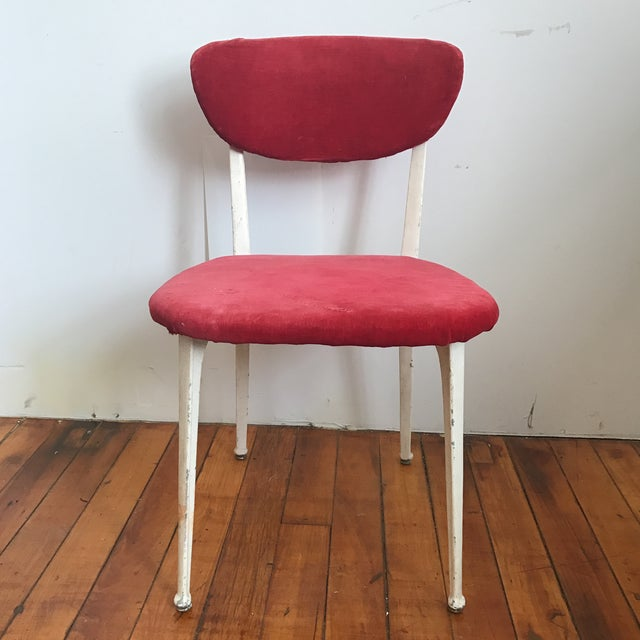 Ernest Race Red Earnest Race Chair For Sale - Image 4 of 8