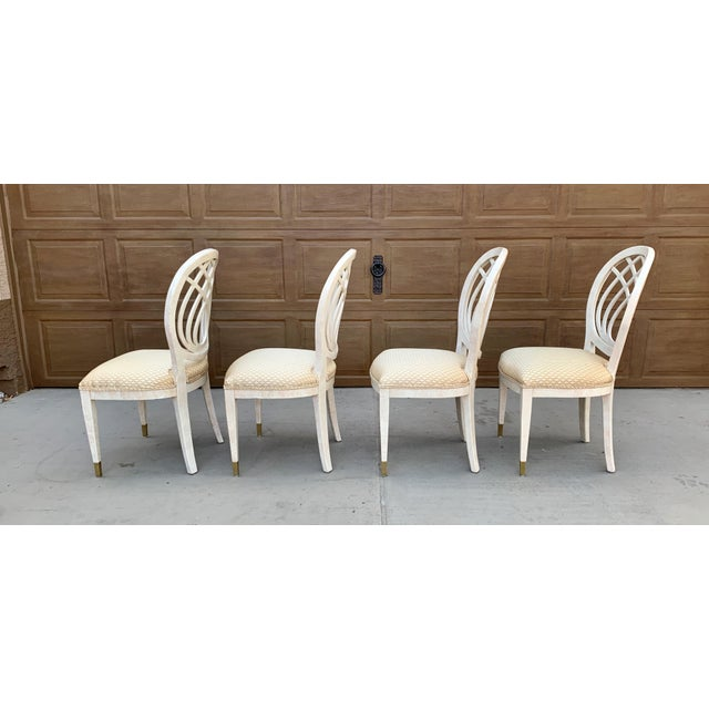 Metal 1990's Henredon Side Chairs - Set of 2 For Sale - Image 7 of 13