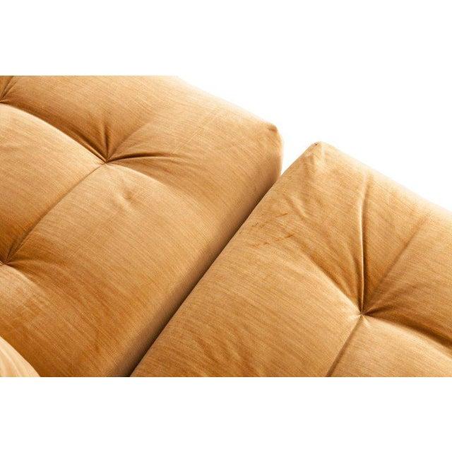 Mah Jong First Edition Modular Sofa in Gold Velvet by Roche Bobois For Sale - Image 9 of 13
