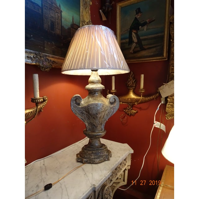 19th Century Silver Gilt Lamp For Sale - Image 12 of 13