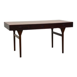 Nanna Ditzel Rosewood Danish Modern Desk For Sale