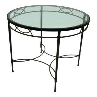 Patio / Breakfast Table by Maurizio Tempestini for Salterini For Sale