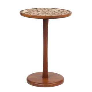 Gordon Martz for Marshall Studios Ceramic Coin Tile Top Occasional Table For Sale