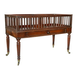 Regency Mahogany Canterbury For Sale
