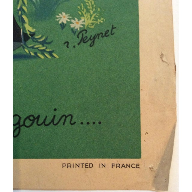 Original vintage lithograph not a copy - Raymond Peynet. Peynet was born in Paris on 16th November 1908 « At 15 he gained...