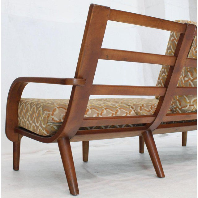 Maple Conant Ball Russel Right Solid Bent Maple Sofa For Sale - Image 7 of 13