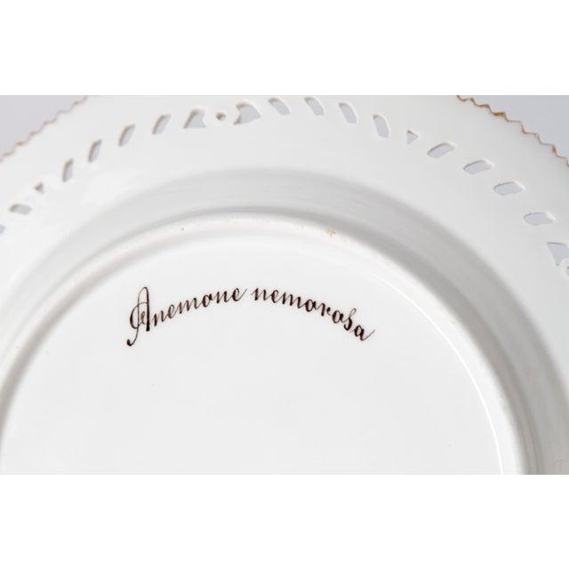 Royal Copenhagen Flora Danica Pierced Plates #20/3554 For Sale In Dallas - Image 6 of 13