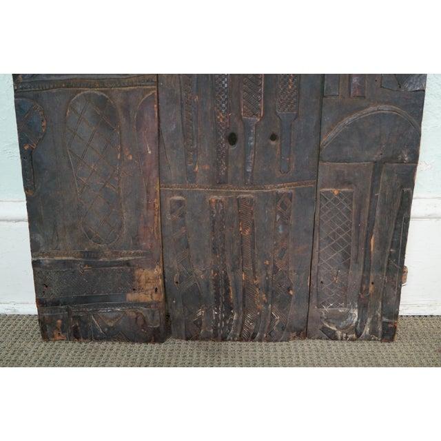Tribal African Dogan Door (C) For Sale - Image 5 of 10