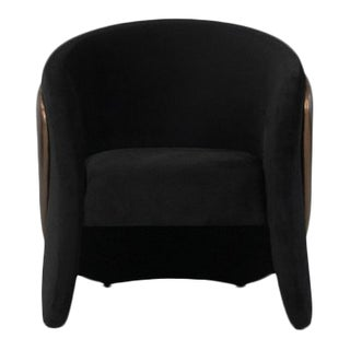 Denise Chair & Foot Rest From Covet Paris For Sale