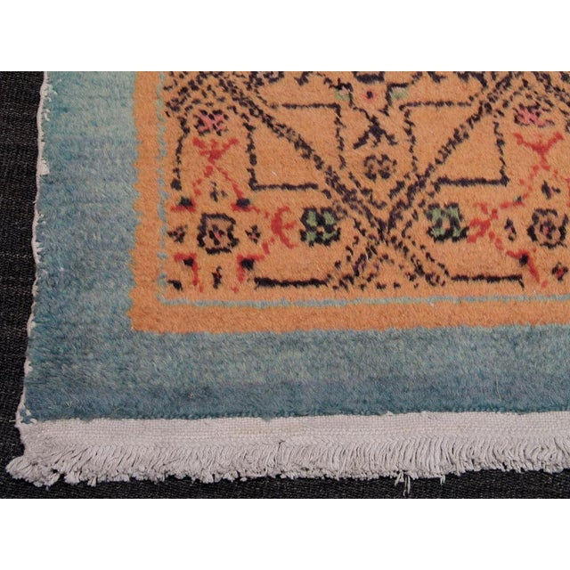Pair of Oushak Rugs For Sale - Image 4 of 5