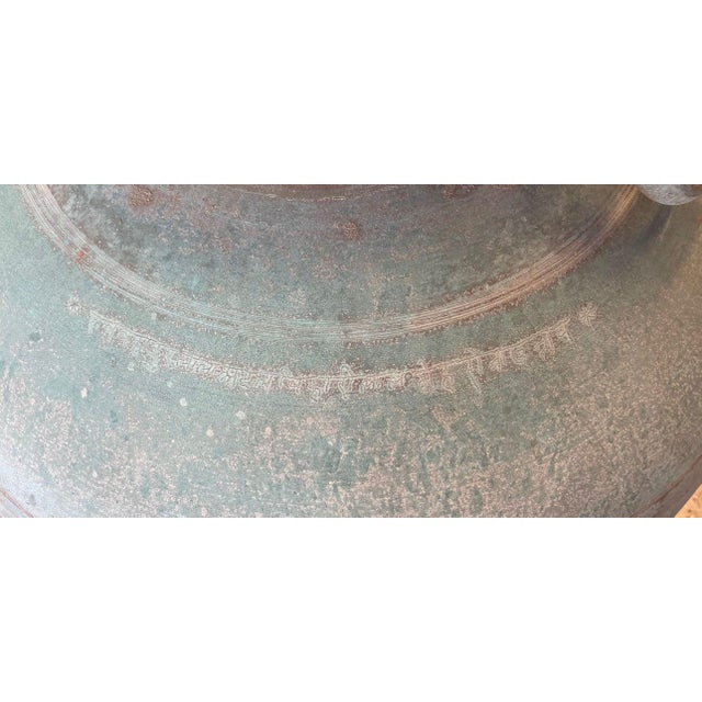 Copper Antique Indian Copper Water Pot For Sale - Image 8 of 13