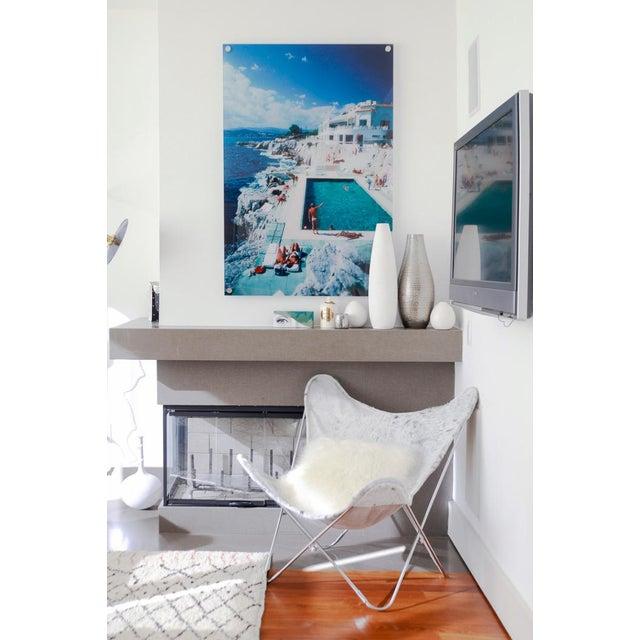 "Contemporary Slim Aarons ""Hotel De Cap Eden Roc"" Print For Sale - Image 3 of 5"