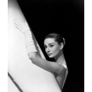 Audrey Hepburn, 1956 (Photograph, Print) For Sale