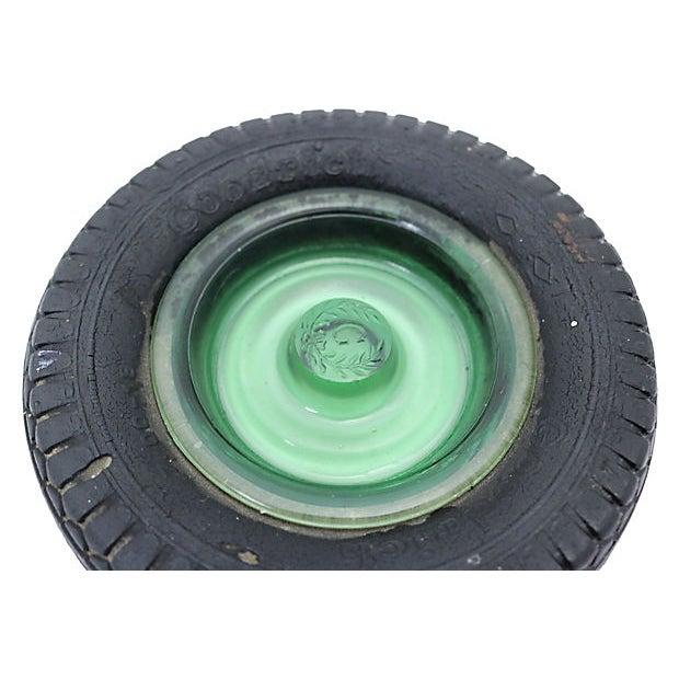 Cabin 1960s b.f. Goodrich Rubber Tire Ashtray For Sale - Image 3 of 4