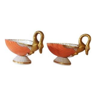 Italian Shell Bowls - a Pair For Sale