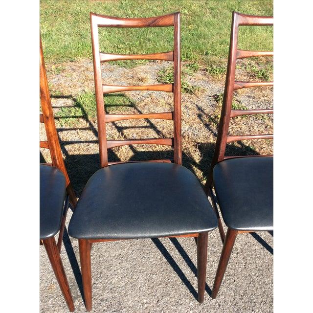 Niels Koefoed Rosewood & Teak Chairs - Set of 6 - Image 5 of 10